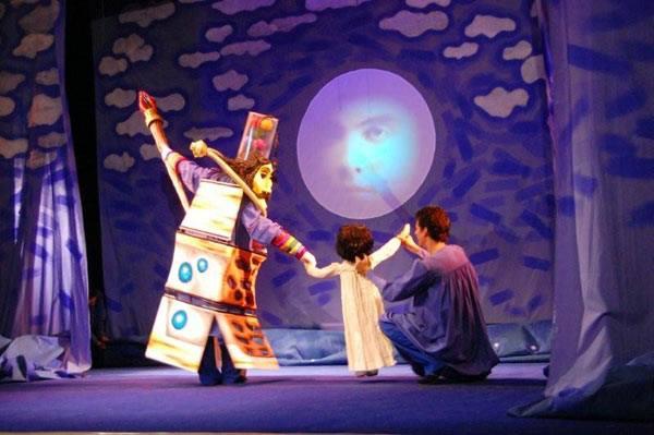 Teatro de la Luna en escena. (Suministrada)