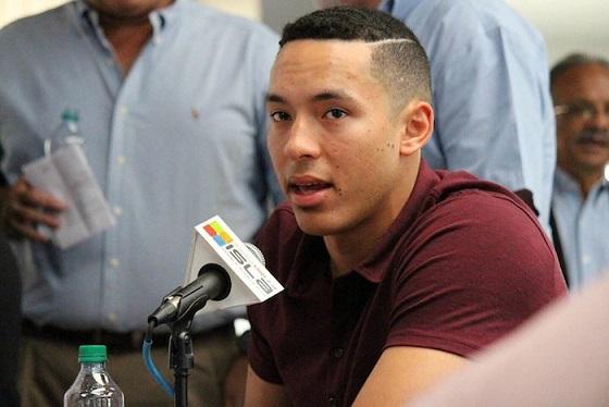 Carlos Correa es el líder de una nueva camada de superestrellas del béisbol puertorriqueño. Son tiempos en los que ell fanático boricua goza de lo lindo. (Michelle Estades - Diálogo)