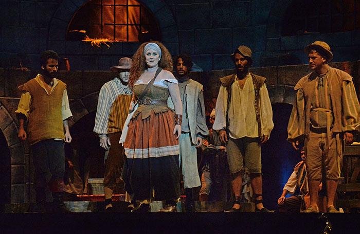 The man of La mancha en el Teatro de la UPR. (Ricardo Alcaraz/ Diálogo)