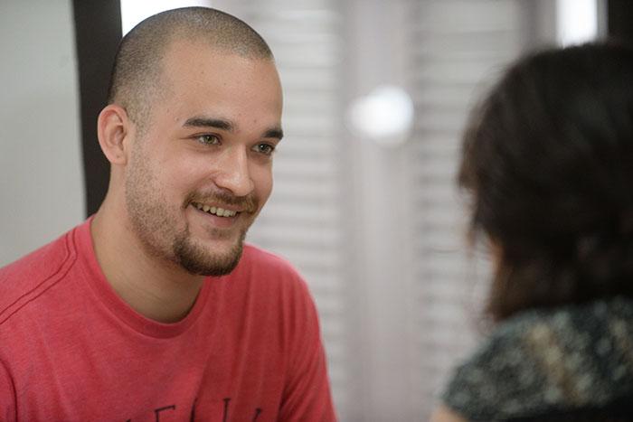 Jorge A. Pérez, portavoz de TEDx UPR (Ricardo Alcaraz/Diálogo)