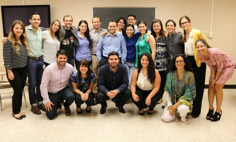 Estudiantes del curso de Salud Pública (MCUA 7427) que participaron en el proyecto de salud para la comunidad de Cantera.
