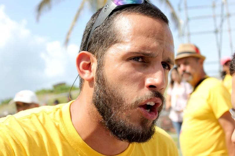 Edwin Morales, vicepresidente de la Federación de Maestros. (Adriana De Jesús Salamán/Diálogo)