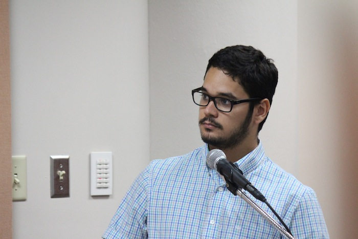 Emmanuel Estrada, periodista de Diálogo. (Glorimar Velázquez/ Diálogo)