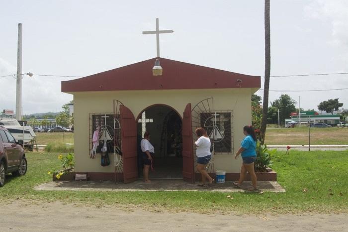 Capilla Nuestra Señora del Carmen en el sector El Docky, Mayagüez (Jannette Ramos García/especial para Diálogo)