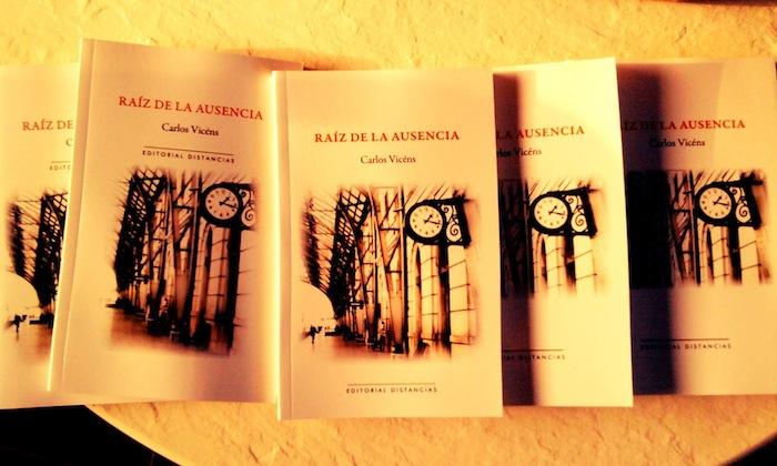 Último libro de Carlos Vicéns. (Suministrada)