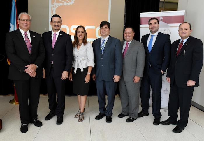 El Presidente de la Universidad de Puerto Rico, Uroyoán R. Walker Ramos durante Conferencia de Prensa  en Edificio de Ciencias Moleculares. Fotos por Ingrid Torres
