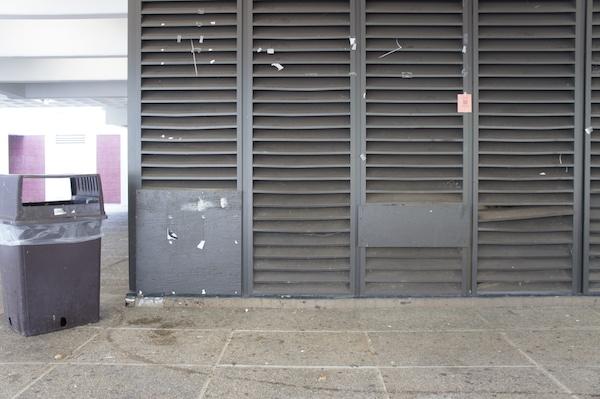 DMN plywood (Foto por David Tait/Grupo Estudios Semióticos)