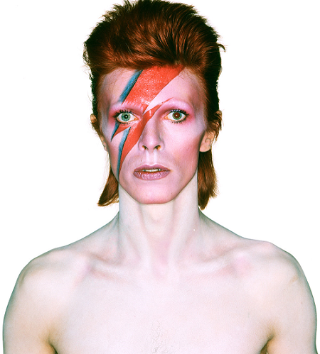David Bowie, casi na'. (vam.ac.uk)