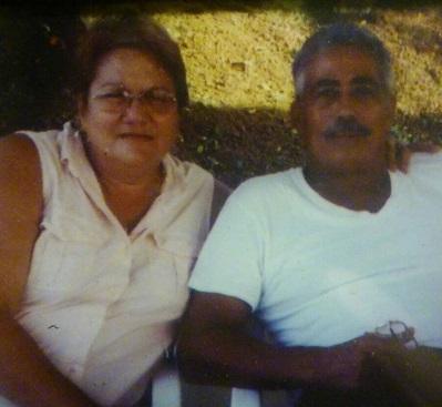 Gloria Santiago y Herman Ortiz. (Suministrada)