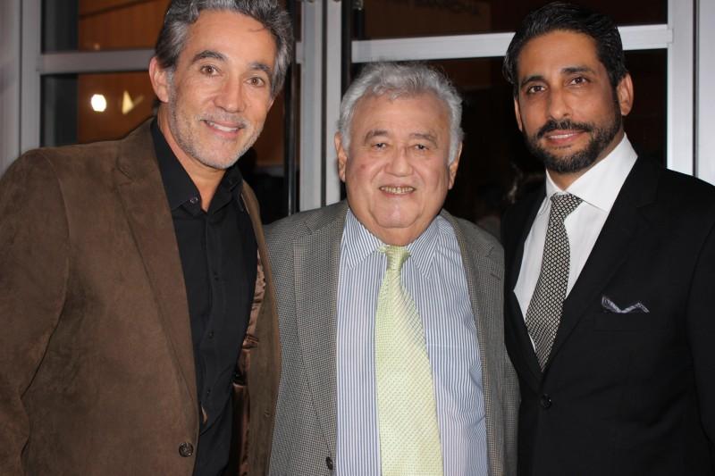 De izquierda a derecha: Braulio Castillo, Efraín López Neris y Ernesto J. Cocepción. (Ashley Tejada / Diálogo)