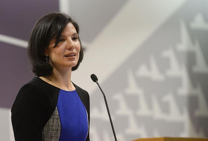 Ingrid Vila, exsecretaria de la gobernación. (Ricardo Alcaraz/Diálogo)