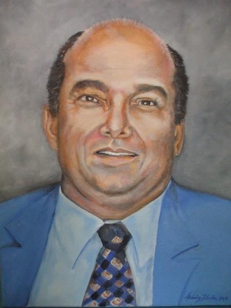 Retrato del primer rector de la UPR en Carolina, Dr. Juan Sepúlveda Rivera. (Suministrada)