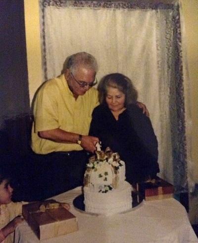 Rafael y Ana en su aniversario. (Suministrada)
