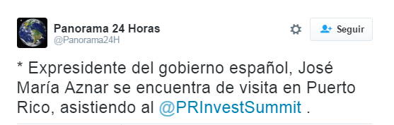 Twitter Aznar