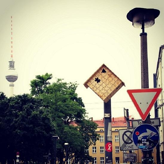 Las casitas de pájaro de Dambo salieron de DInamarca y llegaron a Berlin...