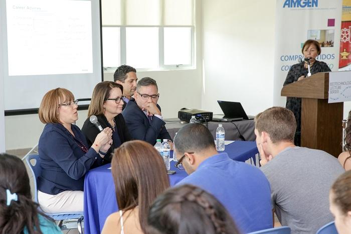 En el evento participaron ejecutivos de la empresa Amgen. (Suministrada)