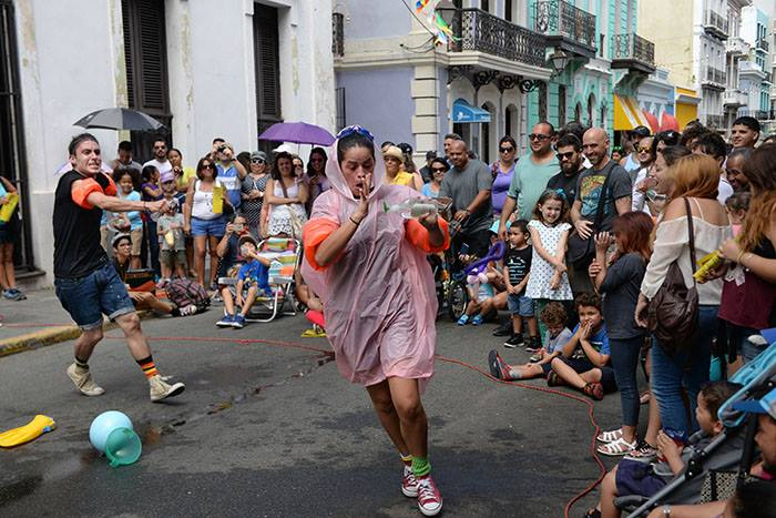 Colectivo Columpio, de Puerto Rico. (Ricardo Alcaraz/Diálogo)