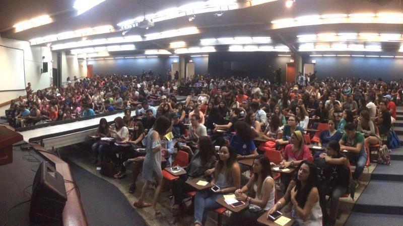 Asamblea en UPR Arecibo. (Suministrada)
