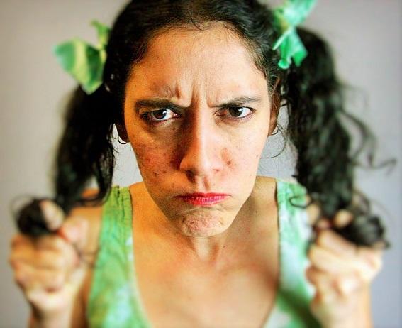 También interpretó a Panchita en 'Los titingós de Juan Bobo'. (Cortesía de Teatro Círculo)