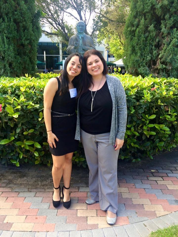 Jessica Rios y la doctora Karilys Gonzalez.
