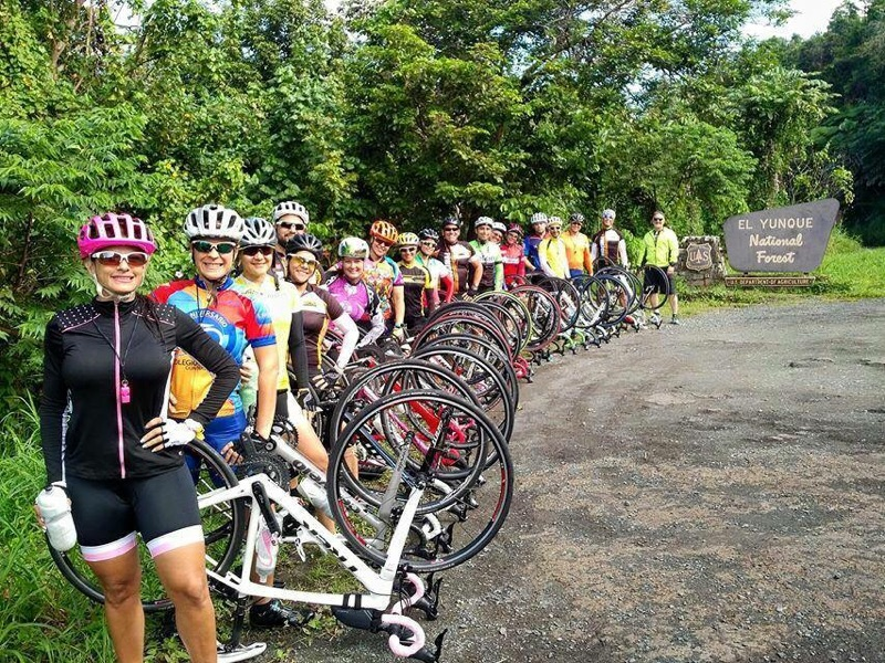 Ciclistas en el Yunke. (Suministrada)