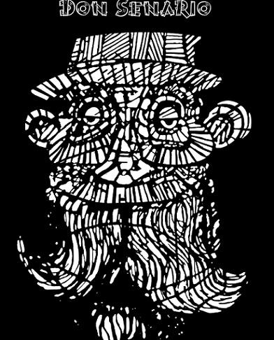 Logo de Don Senario.
