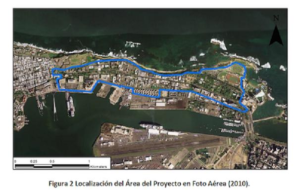 El proyecto del Paseo Lineal de Puerta de Tierra, busca crear una ruta para conectar el sector de Condado con el Viejo San Juan, con un paseo peatonal, un carril de bicicletas y áreas comerciales. (Suministrada)