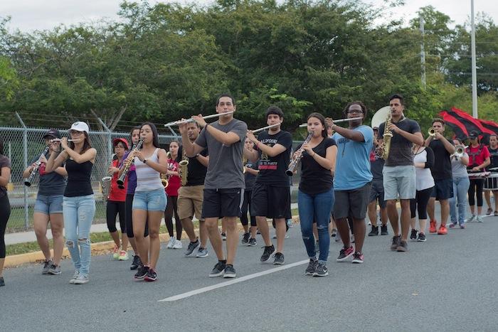 Estudiantes de la UPR Ponce en paro (CGE Ponce/ Facebook)