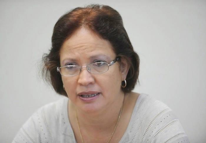 Myrna Comas, secretaria del Departamento de Agricultura de Puerto Rico. (Ricardo Alcaraz/ Diálogo)
