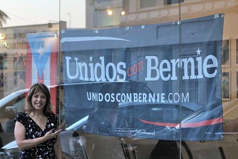 Franceschini optó por trabajar con la campaña de Sanders tras sentirse decepcionada con la forma de operar de Hillary Clinton. (Cristian M. Arroyo Santiago)