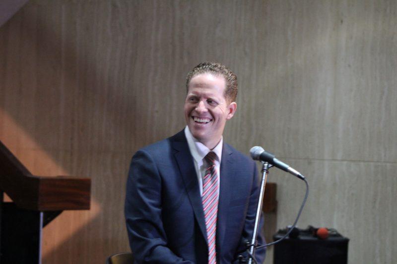 David Bernier, candidato por el Partido Popular Democrático. (Deborah Rodríguez/ Diálogo)