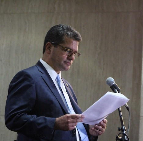 Pedro Pierluisi, aspirante por el Partido Nuevo Progresista. (Deborah Rodríguez / Diálogo)