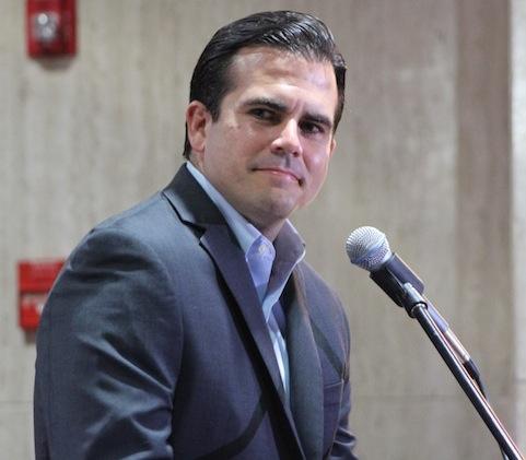 Ricardo Roselló, aspirante por el Partido Nuevo Progresista. (Deborah Rodríguez / Diálogo)