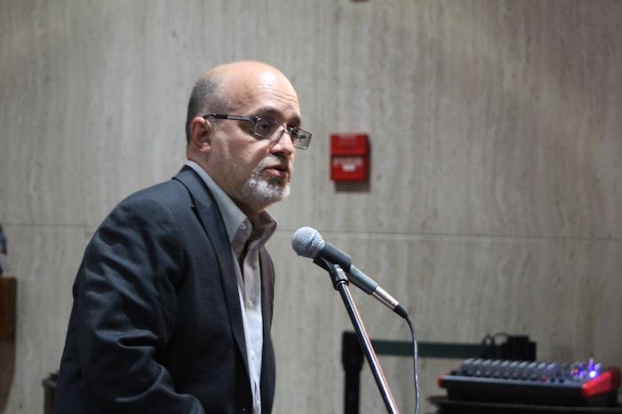Rafael Bernabé, candidato por el Partido del Pueblo Trabajador. (Deborah A. Rodríguez/ Diálogo)