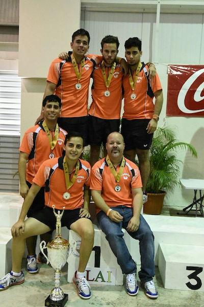 Primer campeonato para los Taínos del Turabo en el tenis de mesa. (Luis F. Minguela/Suministrada)