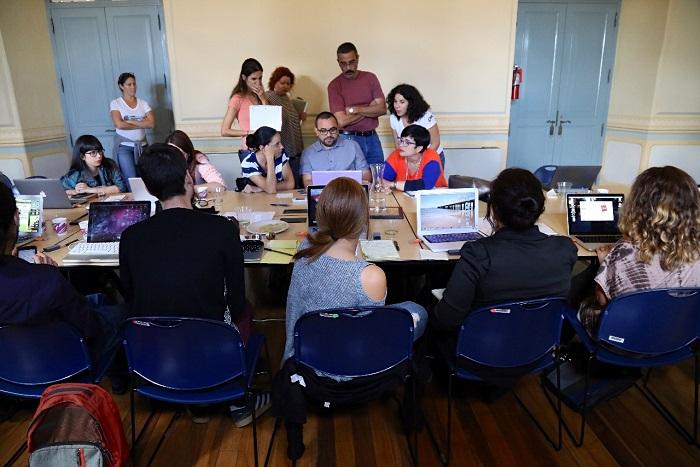Los participantes tuvieron que elaborar propuestas de investigación durante el taller. (CPI)