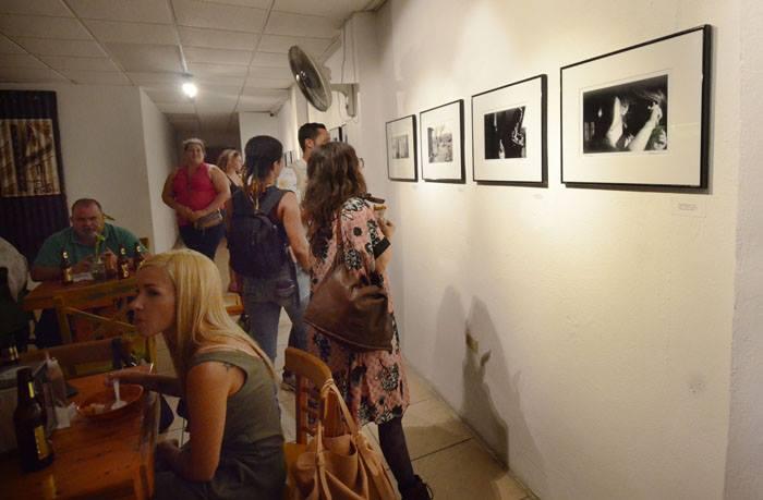 Exposición en el local de Gostosos. (Ricardo Allcaraz)