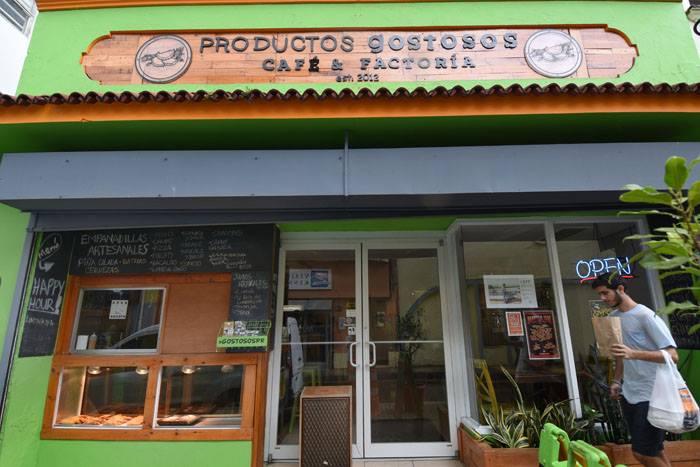 Fachada del local en Río Piedras. (Ricardo Alcaraz/ Diálogo)