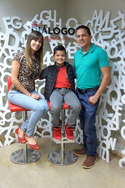 Gadiel cuenta con el apoyo de sus padres. (Ronald Ávila/ Diálogo UPR)