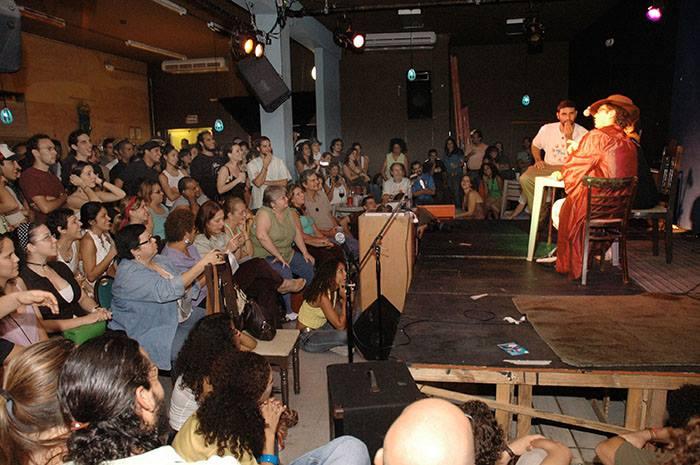 Teatro Breve en sus inicios en el Taller Cé de Río Piedras. (Ricardo Alcaraz/Diálogo)