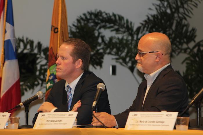 David Bernier y Rafael Bernabe en el RCM. (José Encarnación/ Diálogo)