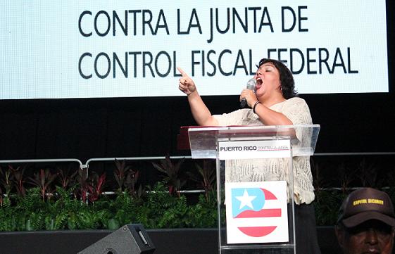 La actividad finalizó con una canción interpretada por Chabela Rodríguez. (Vladimir Pérez Carrucini para Diálogo)