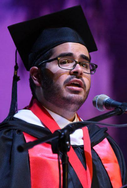 Guillermo Guasp Pérez, presidente del CGE de la UPRRP. (Ricardo Alcaraz/ Diálogo)