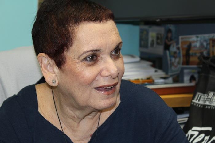 Silvia Álvarez Curbelo, profesora de comunicación de la UPR-RP. (Glorimar Velázquez/ Diálogo UPR)
