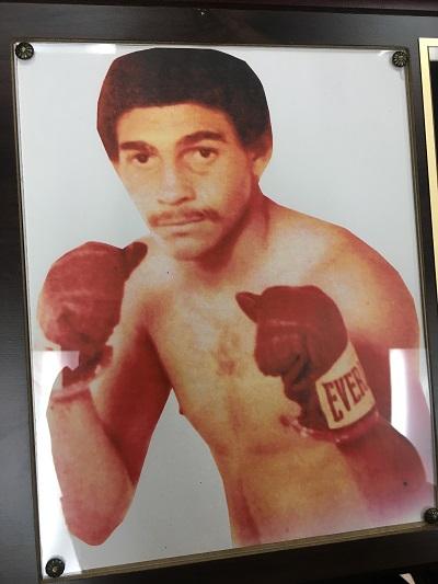 Alberto Mercado en su juventud como boxeador olímpico. (Suministrada)