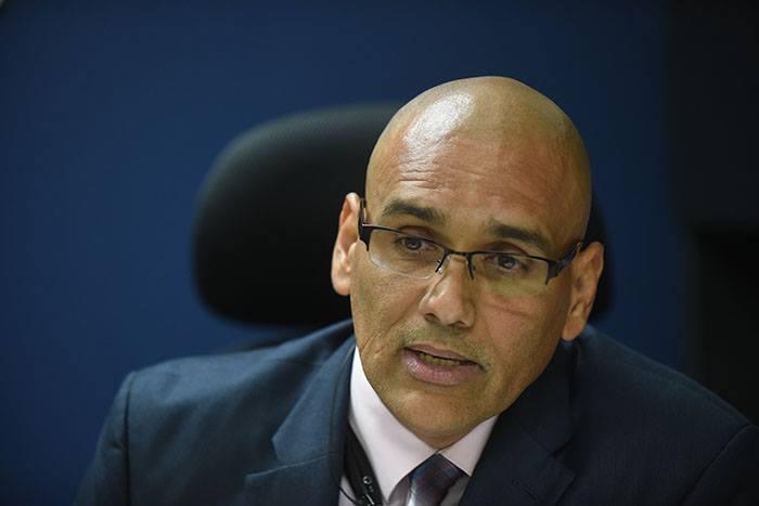 Roberto Rivera, teniente coronel de la Policía de Puerto Rico. (Ricardo Alcaraz/ Diálogo UPR)