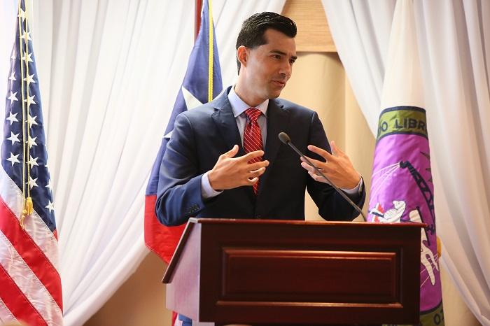José J. Hernández Orengo, participante rehabilitado en la Corte de Drogas de Ponce, ofreció un testimonio de su recuperación. (Suministrada)