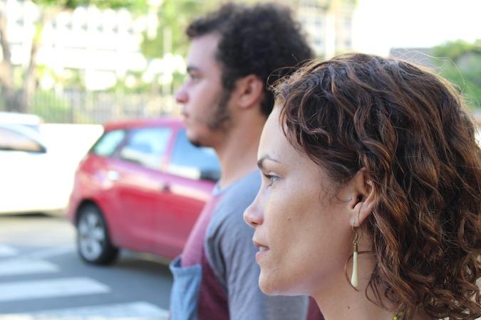 Claudia Luz, junto a su hijo José Méndez (Perla Rodríguez/ Diálogo)