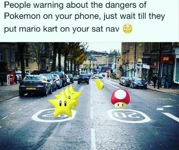 Mario Kart y Pokémon Go (Foto suministrada)
