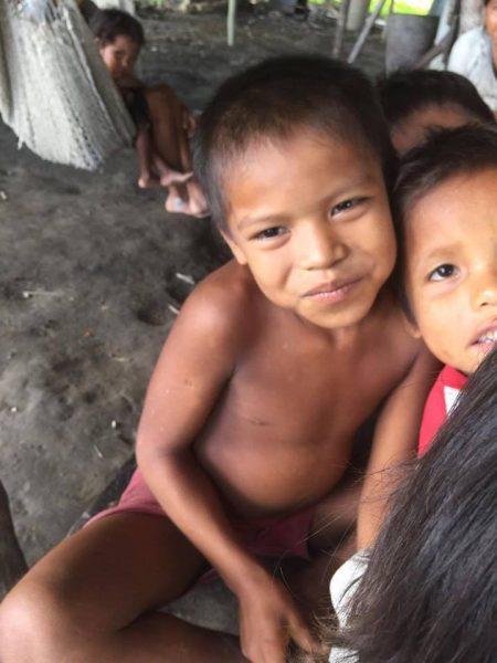 Luisito, indígena con malaria de una comunidad del pueblo warao. (Suministrada)